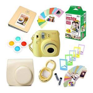 Fujifilm Camera Instax Mini 8 Bundle Gift Box - Yellow - www.yallagoom.com.qa