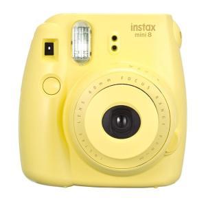 Fujifilm instax Mini 9 Instant Camera Yellow - www.yallagoom.com.qa