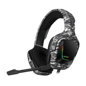 ONIKUMA K20 Camou Grey Professional Gaming Headset - www.yallagoom.com.qa