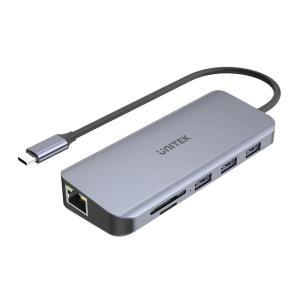 Unitek 9-in-1 USB 3.1 Gen1 Type-C Hub Power Delivery 100W - www.yallagoom.com.qa