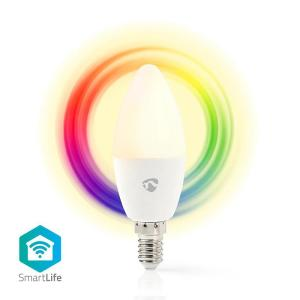 WiFi Smart LED Bulb | Full Colour and Warm White | E14-Yallagoom.com.qa