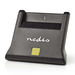 Smartcard Reader | USB 2.0 | Desktop Model | Black-Yallagoom.com.qa