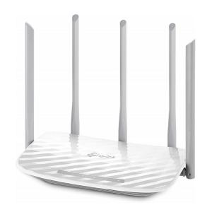 TP-Link Archer C60 Ac1350 Wireless Dual Band Router (White)-yallagoom.com.qa