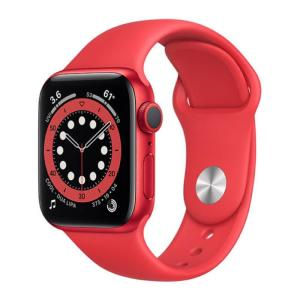 Apple Watch Series 6 GPS 40MM Sport Band Red - M00A3-yallagoom.com.qa