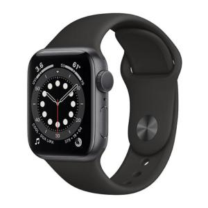 Apple Watch Series 6 GPS 44MM Sport Band Black - M00H3-yallagoom.com.qa