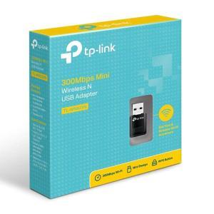 TP-Link TL-WN823N 300Mbps Mini Wireless-N USB Adapter (Black)-yallagoom.com.qa