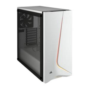 CORSAIR CARBIDE SPEC-06 WHITE AND BLACK CASE-yallagoom.com.qa