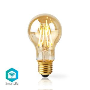 Wi-Fi Smart LED Filament Bulb | E27 | A60 | 5W | 500 lm-Yallagoom.com.qa